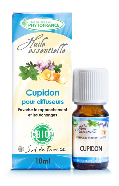 synergie huiles essentielles cupidon