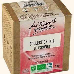 Collection n.2 se fortifier x20 infusettes