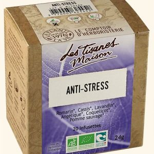 Tisane anti-stress bio x20 infusettes